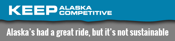 KEEP Alaska Competitive Alaskas had a great ride but its not sustainable